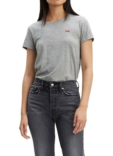 Levi's® 3918500300 Perfect Smokestack Heath Bisiklet Yaka Kadın Tshirt Renkli